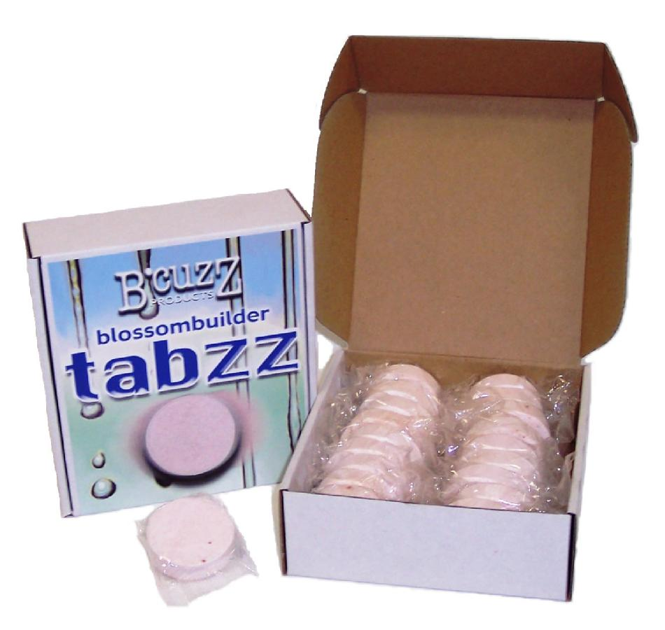 B'CUZZ® TABZZ 0-12-15 - TABLETS CASE of 18 Tabzz