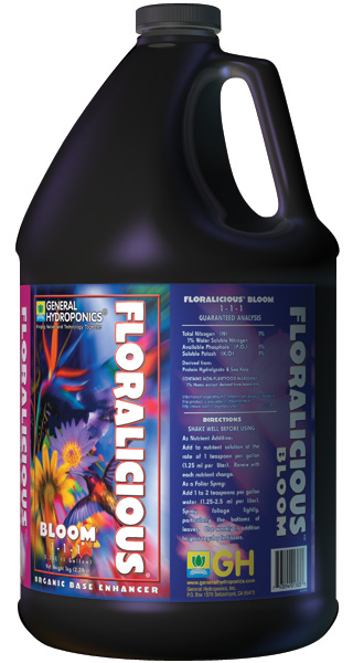 GHBB� FLORALICIOUS BLOOM GALLON (4/C