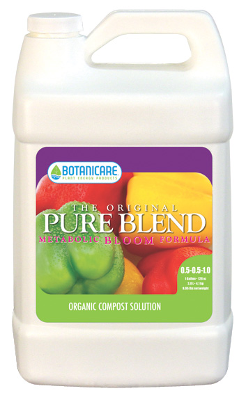 BOTANICARE� PUREBLEND� ORIGINAL BLOOM 0.5-0.5-1 - 2.5 GALLON (2/CASE)