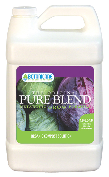 BOTANICARE� PUREBLEND� ORIGINAL GROW 1-0.5-1 - GALLON (4/CASE)