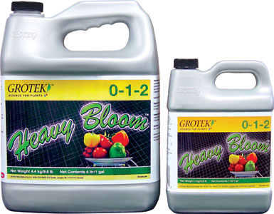 GROTEK� HEAVY BLOOM� 0-1-2 - 1 L (6/CASE)