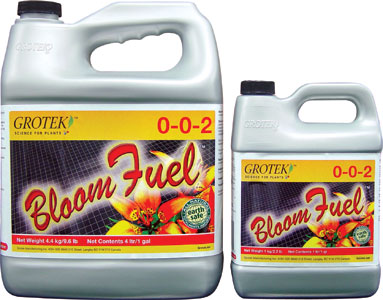 GROTEK® BLOOM FUEL™ 0-0-2 - GALLON (4/CASE)