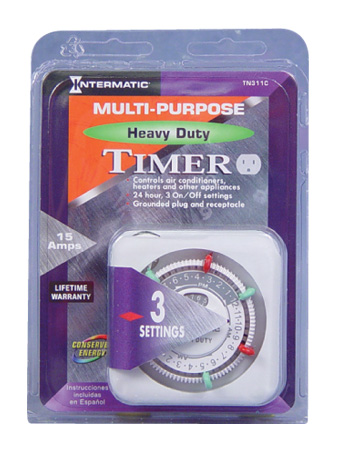 INTERMATIC TN311-C HEAVY DUTY TIMER 15AMP