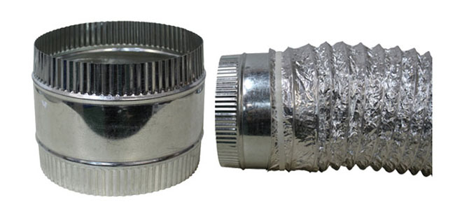 DUCT COUPLER - FLEX 8 INCH