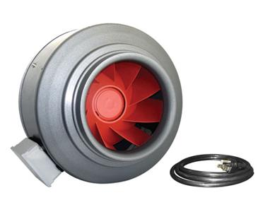 "VORTEX INLINE FAN 14""          CFM (V-14XL)"