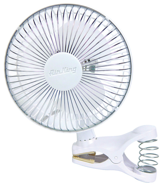 "AIR KING� 6"" - 2 SPEED CIRCULATING CLIP ON FAN"