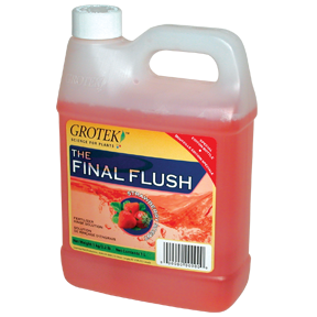 Grotek Final Flush Straw 4 Liter (4/Cs)