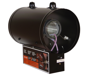 "UVONAIR 8"" CD IN LINE DUCT OZONATOR - 1 CELL"