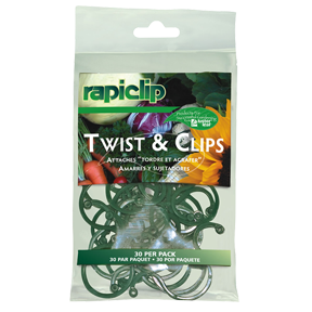 Rapiclip Twist & Clips (12/Cs)