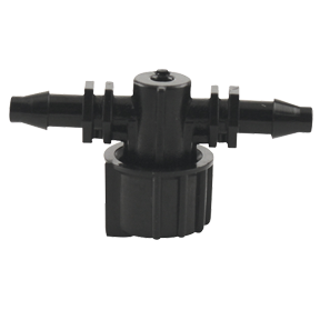 Hydro Flow In-Line Micro Irrigation Valve- 3/16 in (Case of 150)
