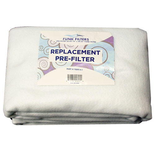 8�x40� Funk Filter Replacement pre-filters