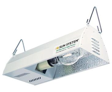SUN SYSTEM� HPS 150W GROW LIGHT FIXTURE - COMPLETE WITH LAMP INCLUDED