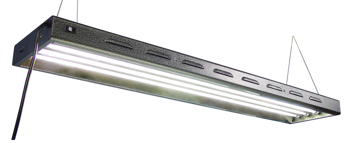 SUN SYSTEM�  SUN BLAZE� T5 - 48 FLUORESCENT LIGHTING FIXTURE 4' - 8 LAMP