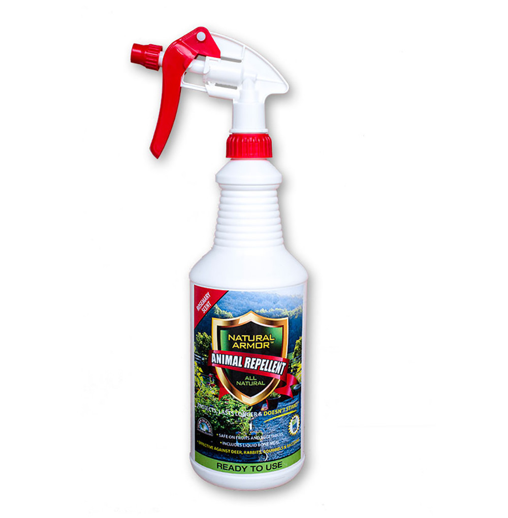 Natural Armor Animal Repellent - Ready to Use Spray, Quart Rosemary Scent
