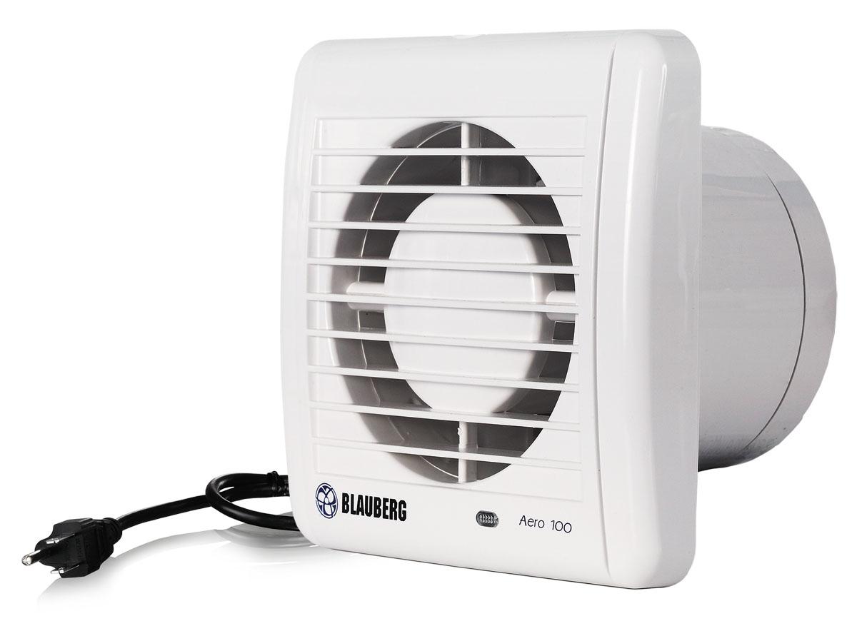 HydroFarm: Blauberg Axial Inline Fan 4 inch Wall/Ceiling [hf BLB4AERO  #4E4E5E