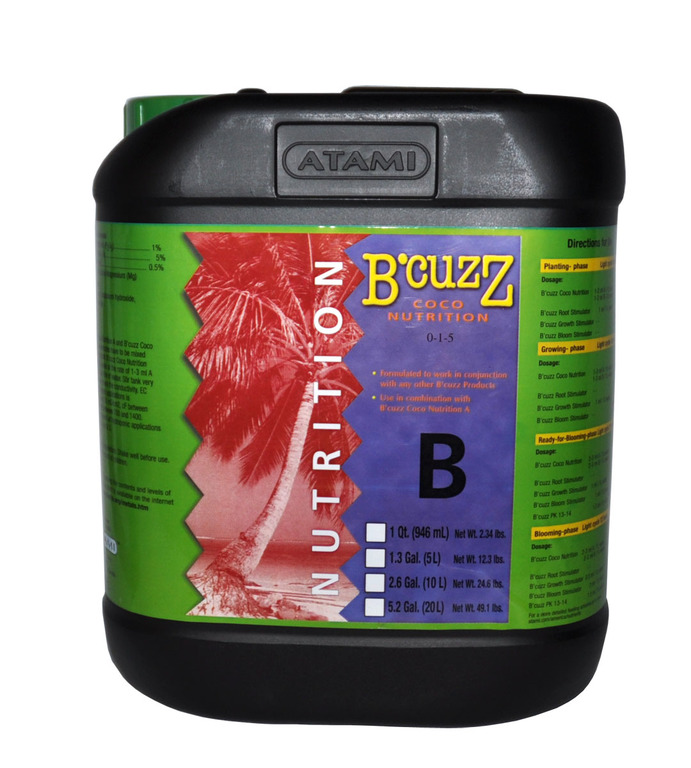 B'Cuzz Coco Nutrition Component B 10L