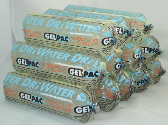 DRiWATER� Combo Pac 1: 12, 9 oz. GelPac Gel Packs