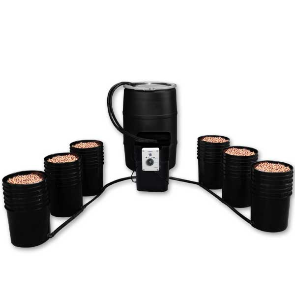 EBB Monster 6 pot System w/ 55 gallon Reservoir