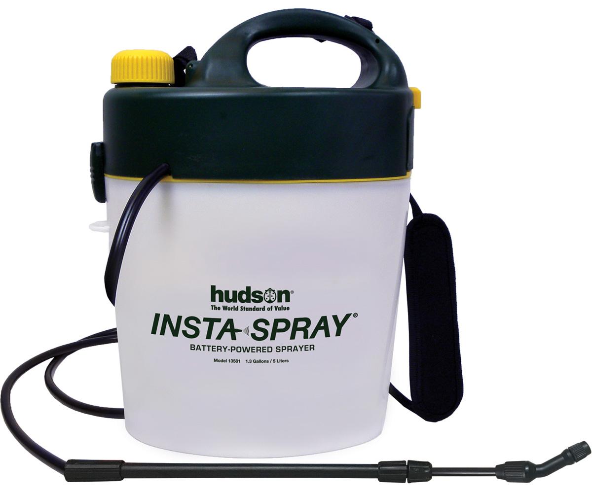 Hd Hudson Insta Spray Battery Operated Garden Sprayer 1 3 Gal Hf Hd13581 Spray Bottles
