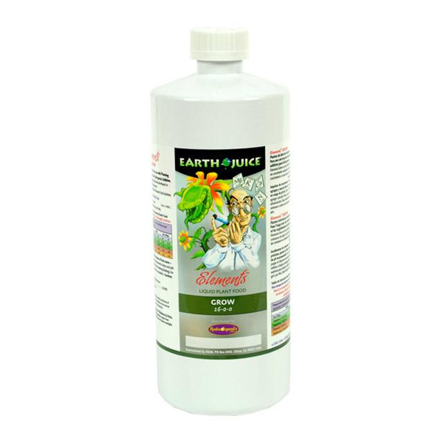 Earth juice elements grow qt 16 0 0 hf hoeg35002 for Earth elements organics