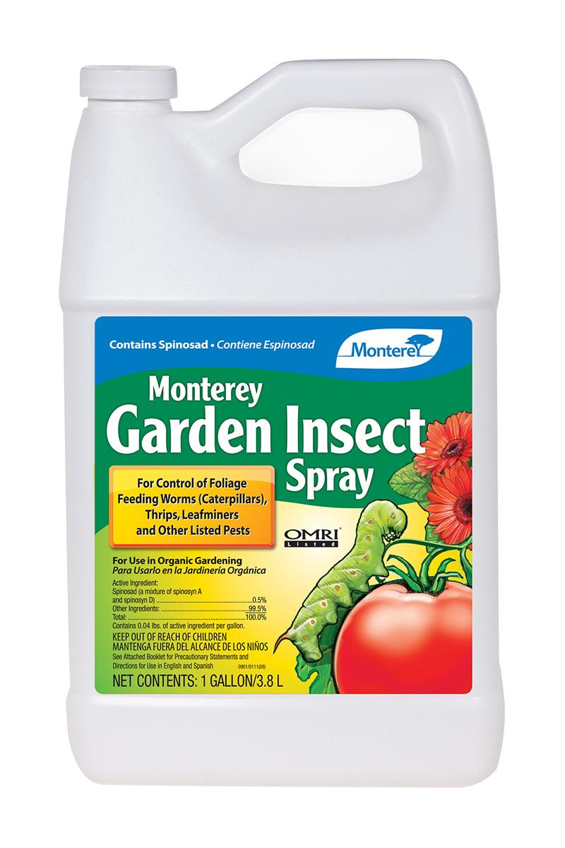 Monterey Lawn Garden Monterey Garden Insect Spray 1 Gal Hf Mbr5009 Pest Disease