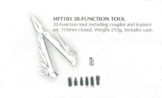 20-Function Multi Tool w/ Case