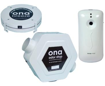 ONA DISPENSERS - BREEZE DISPENSER - 35 CFM FAN