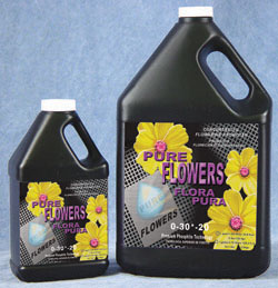 HYGROCORP� PURE FLOWER 0-30-20 - GALLON  (4/CASE)