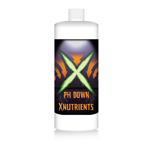 X Nutrients pH Down Concentrate (1 Quart)