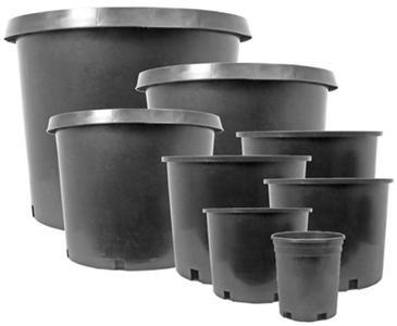 "PREMIUM NURSERY POT   #3 - ID= BOTTOM - 8-5/8""  TOP - 10"" DEPTH - 8-7/8"""
