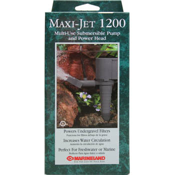 Maxi Jet 1200 water pump. 295 GPH @ 1 ft