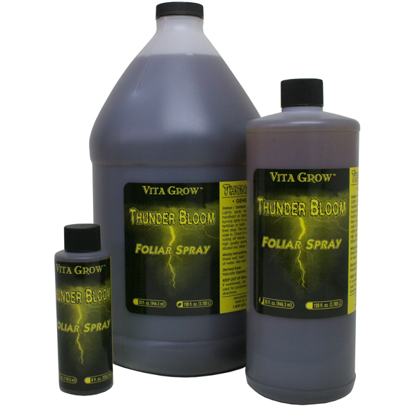 Thunder Bloom Foliar Spray. 1 Gallon