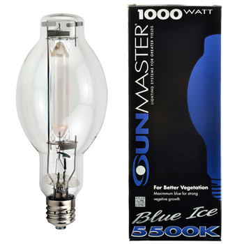 1000w Blue Ice U Metal Halide Lamp