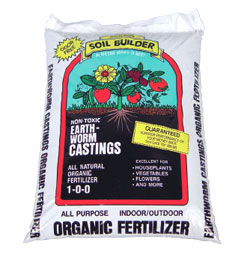 WIGGLE WORM SOIL BUILDER™ WORM CASTINGS 30 LB (Special Order)
