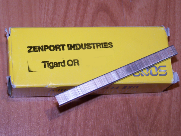Box of ZenTapener Staples-compatible with other brands (box contains 10,000 staples) compatible with other brands