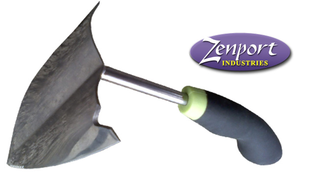 Zenport 220010C Garden Plow, Ergonomic Soft Cushion Grip