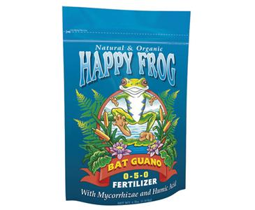 FOX FARM HAPPY FROG® BAT GUANO 0-5-0 - 4 LB BAG (8/CASE)