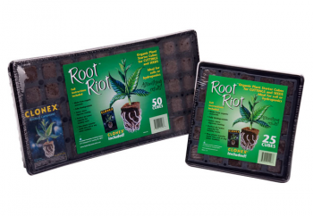 Root Riot 25 Cube Tray w/ Clonex Gel (20/Cs)
