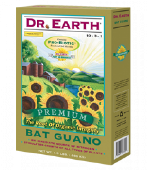 Dr. Earth Bat Guano 1.5 lb (12/Cs)