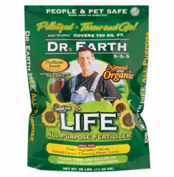 Dr Earth Life All Purpose Peletized 12lb (5/Cs)