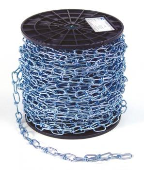 JACK CHAIN, DOUBLE LOOP, NO.1, 200 FT