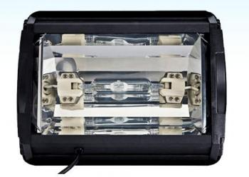 AquaticLife  	LIGHT 12IN 1-150WDE HID MATTE BLACK 14K