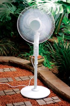 "Active Air Infinity 16"" Oscillating PedestalFan"