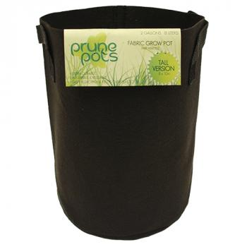 2 Gallon TALL Prune Pots Fabric Grow Pots