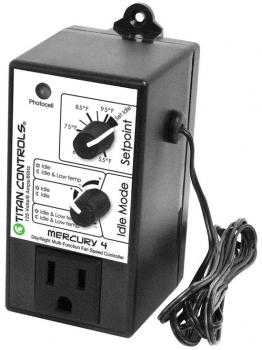 TITAN CONTROLS� MERCURY 4� MULTIMODE FAN SPEED CONTROL