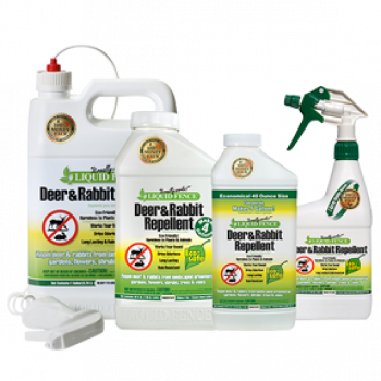 Liquid Fence Deer and Rabbit Repellent Quart RTU (12/Cs)