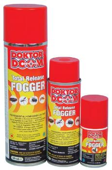 DOKTOR DOOM� TOTAL RELEASE FOGGER -  2.47OZ (12/CASE) ROOM SIZE 12' X 12'
