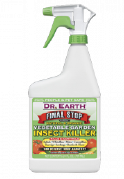 DR EARTH VEGETABLE GARDEN INSECT KILLER RTU 24 OZ