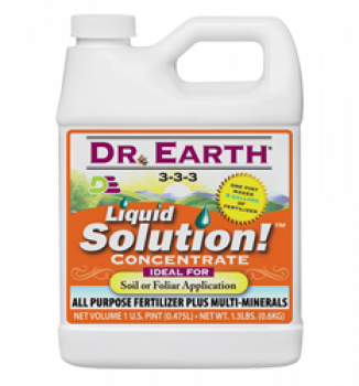 DR. EARTH LIQUID SOLUTION - GALLON