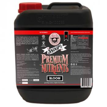 Snoop's Premium Nutrients Bloom B Circulating 10 Liter (Hydro Recirculating) (2/Cs)